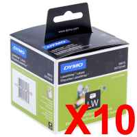 10 x Genuine Dymo LW Multi Purpose Labels 54mm x 70mm - 320 Labels SD99015