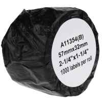 1 x Compatible Dymo LW Multi Purpose Labels 57mm x 32mm - 1000 Labels SD11354