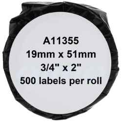 Dymo 11355 SD11355 Multi Purpose Label - 19mm x 51mm - 500 Labels