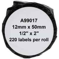 1 x Compatible Dymo LW Suspension File Labels 12mm x 50mm - 220 Labels SD99017