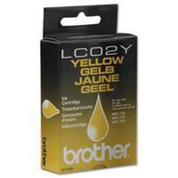 1 x Genuine Brother LC-02 Yellow Ink Cartridge LC-02Y