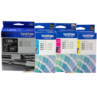 4 Pack Genuine Brother LC-139XL LC-135XL Ink Cartridge Set (1BK,1C,1M,1Y)
