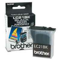 1 x Genuine Brother LC-21 Black Ink Cartridge LC-21BK