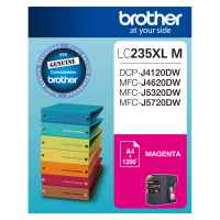 1 x Genuine Brother LC-235XL Magenta Ink Cartridge LC-235XLM