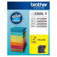 1 x Genuine Brother LC-235XL Yellow Ink Cartridge LC-235XLY