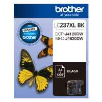 1 x Genuine Brother LC-237XL Black Ink Cartridge LC-237XLBK