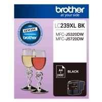 1 x Genuine Brother LC-239XL Black Ink Cartridge LC-239XLBK