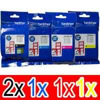 5 Pack Genuine Brother LC-3319XL Ink Cartridge Set (2BK,1C,1M,1Y)