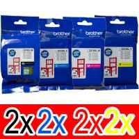 8 Pack Genuine Brother LC-3319XL Ink Cartridge Set (2BK,2C,2M,2Y)
