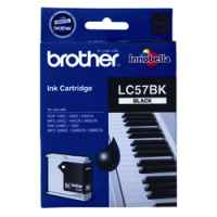 1 x Genuine Brother LC-57 Black Ink Cartridge LC-57BK
