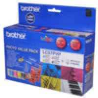 1 x Genuine Brother LC-57 B/C/M/Y Ink Cartridge Photo Value Pack LC-57PVP