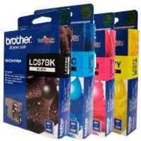 4 Pack Genuine Brother LC-67 Ink Cartridge Set (1BK,1C,1M,1Y)