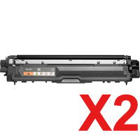 2 x Compatible Brother TN-251BK Black Toner Cartridge