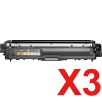 3 x Compatible Brother TN-251BK Black Toner Cartridge