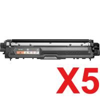 5 x Compatible Brother TN-251BK Black Toner Cartridge