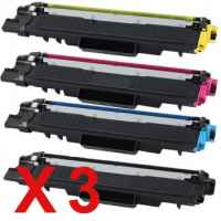 3 Lots of 4 Pack Compatible Brother TN-253 & TN-257 Toner Cartridge Set