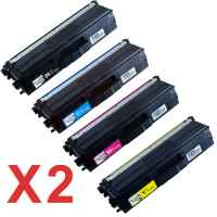 2 Lots of 4 Pack Compatible Brother TN-443 Toner Cartridge Set High Yield