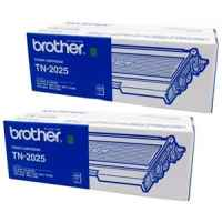 1 x Genuine Brother TN-2025 Toner Cartridge Twin Pack