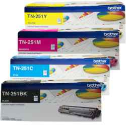Brother TN-251 TN-255 DR-251