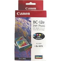 1 x Genuine Canon BC-12E Colour Printhead