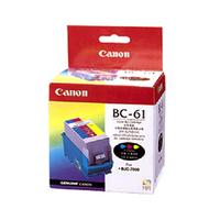 1 x Genuine Canon BC-61 Colour Printhead