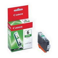 1 x Genuine Canon BCI-6G Green Ink Cartridge