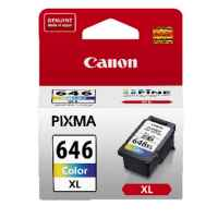 1 x Genuine Canon CL-646XL Colour Ink Cartridge High Yield