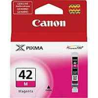 1 x Genuine Canon CLI-42M Magenta Ink Cartridge