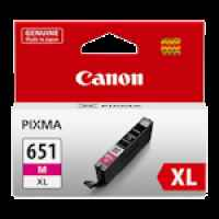 1 x Genuine Canon CLI-651XLM Magenta Ink Cartridge High Yield