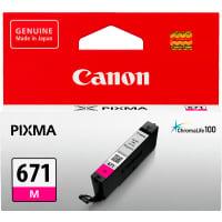 1 x Genuine Canon CLI-671M Magenta Ink Cartridge