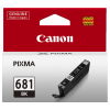 1 x Genuine Canon CLI-681BK Black Ink Cartridge