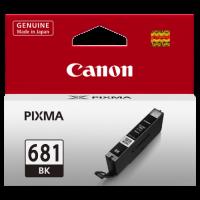 1 x Genuine Canon CLI-681BK Black Ink Cartridge