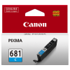 1 x Genuine Canon CLI-681C Cyan Ink Cartridge