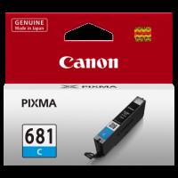 1 x Genuine Canon CLI-681C Cyan Ink Cartridge