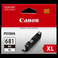 1 x Genuine Canon CLI-681XLBK Black Ink Cartridge High Yield