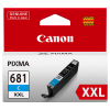 1 x Genuine Canon CLI-681XXLC Cyan Ink Cartridge Extra High Yield