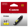 1 x Genuine Canon CLI-681Y Yellow Ink Cartridge