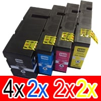 10 Pack Compatible Canon PGI-1600XL PGI1600XL Ink Cartridge High Yield Set (4BK,2C,2M,2Y)