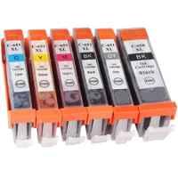 6 Pack Compatible Canon PGI-650XL CLI-651XL Ink Cartridge Set (1BK,1PBK,1C,1M,1Y,1GY)