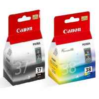 Canon PG-37 CL-38 Ink Cartridges