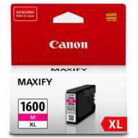 1 x Genuine Canon PGI-1600XLM Magenta Ink Cartridge High Yield