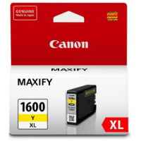 1 x Genuine Canon PGI-1600XLY Yellow Ink Cartridge High Yield
