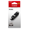 1 x Genuine Canon PGI-680BK Black Ink Cartridge