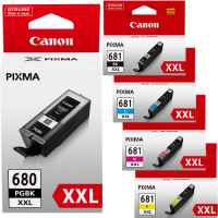 Canon PGI-680 CLI-681 PGI-680XXL CLI-681XXL Ink Cartridges