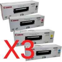 3 Lots of 4 Pack Genuine Canon CART-318 Toner Cartridge Set