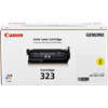 1 x Genuine Canon CART-323Y Yellow Toner Cartridge