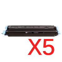 5 x Compatible Canon CART-307BK Black Toner Cartridge