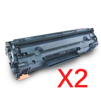 2 x Compatible Canon CART-326 Toner Cartridge