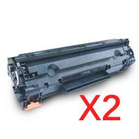 2 x Compatible Canon CART-328 Toner Cartridge