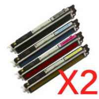2 Lots of 4 pack Compatible Canon CART-329 Toner Cartridge Set
